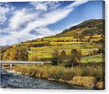 Italy's Autumn Wonderland Canvas Print by Mountain Dreams