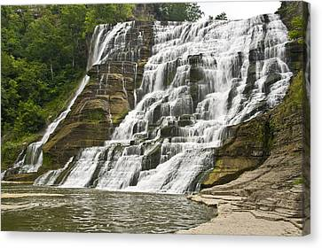 Ithaca Falls Canvas Print by Anthony Sacco