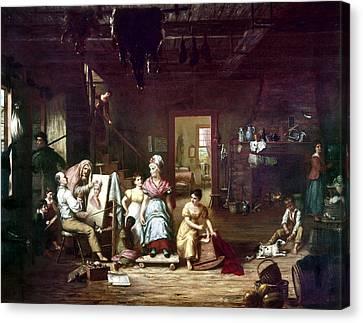 Itinerant Painter, C1815 Canvas Print by Granger