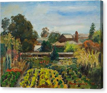Ito Nursery Sunshine Canvas Print by Edward White