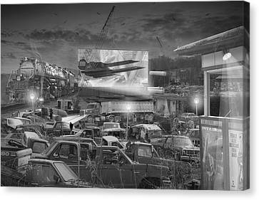 It's A Disposable World  Canvas Print by Mike McGlothlen