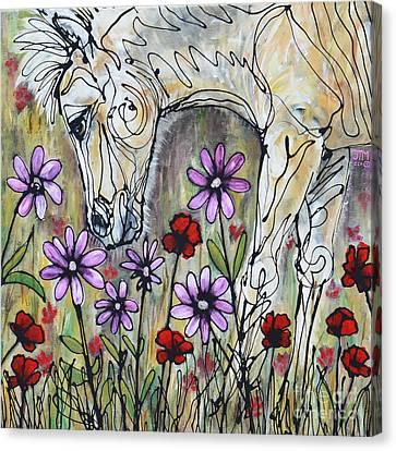 It's A Girl Canvas Print by Jonelle T McCoy
