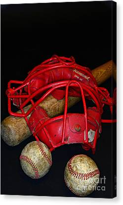 Its All About Baseball Canvas Print by Paul Ward
