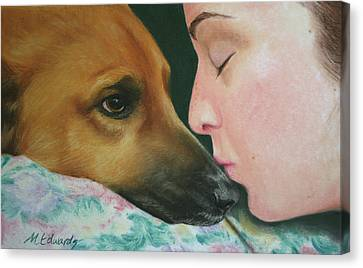 It's Alright Canvas Print by Marna Edwards Flavell