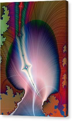 It's Pure Genius Canvas Print by Dolores Kaufman