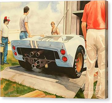 It's Ready Canvas Print by Robert Hooper