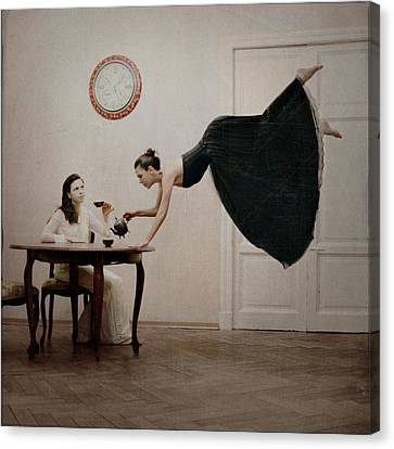 It's Tea Time Canvas Print by Anka Zhuravleva