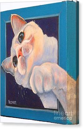 Ive Been Framed Side View Canvas Print by Susan A Becker