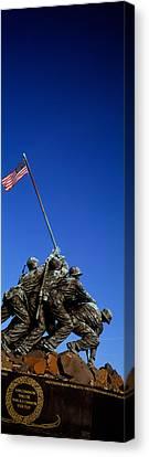 Iwo Jima Memorial At Arlington National Canvas Print by Panoramic Images