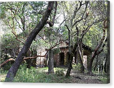 Jack London House Of Happy Walls 5d21961 Canvas Print by Wingsdomain Art and Photography