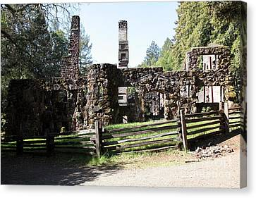Jack London Wolf House 5d22040 Canvas Print by Wingsdomain Art and Photography