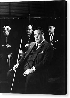Jackie Gleason In The Hustler Canvas Print by Silver Screen