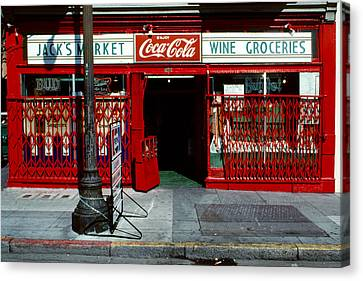 Jack's Market Canvas Print by David Hohmann