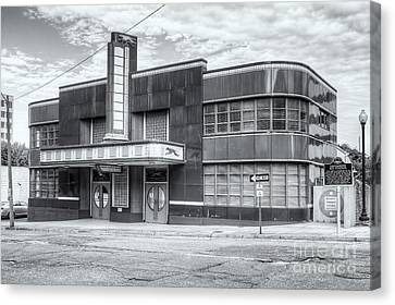 Jackson Mississippi Greyhound Bus Station II Canvas Print by Clarence Holmes