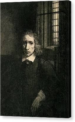 Jacob Haaringh Canvas Print by Rembrandt