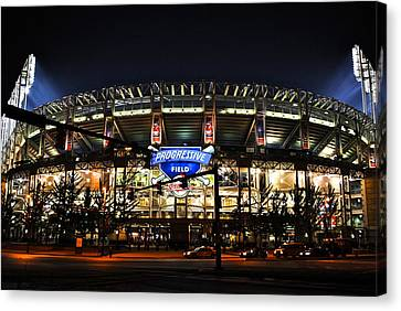 Jacobs Field Canvas Print by Frozen in Time Fine Art Photography