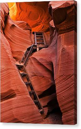 Jacob's Ladder Canvas Print by Mike  Dawson