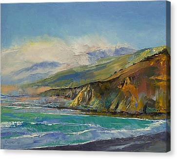 Jade Cove Canvas Print by Michael Creese