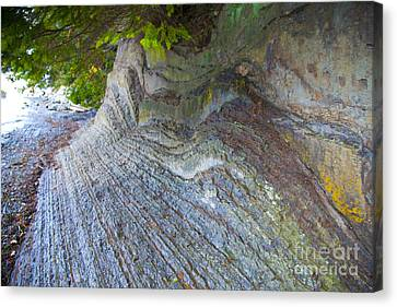 Jagged Rock Canvas Print by Graham Foulkes