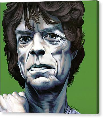 Jagger Canvas Print by Kelly Jade King
