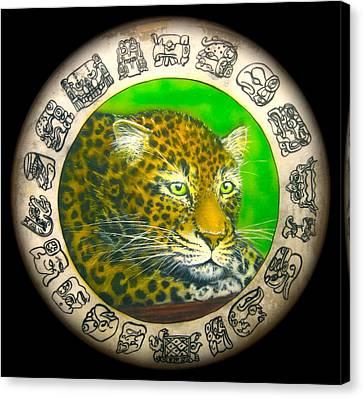 Jaguar Drum  Canvas Print by Ethan  Foxx