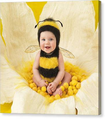 Jai Canvas Print by Anne Geddes
