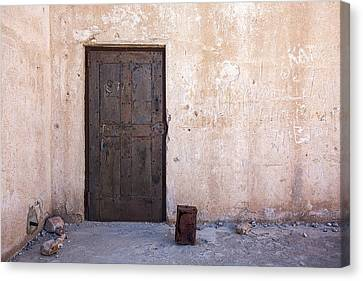 Jail House Rocks Canvas Print by Peter Tellone