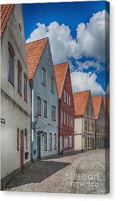 Jakriborg Digital Painting Canvas Print by Antony McAulay