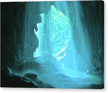 Jamaica Blue Canvas Print by Carey Chen