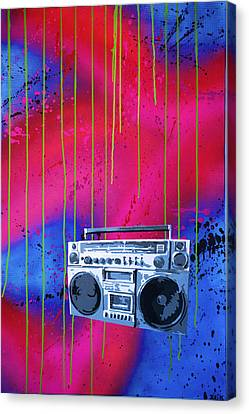 Jamboxxx Canvas Print by Bobby Zeik