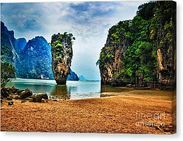 James Bond Island Canvas Print by Syed Aqueel