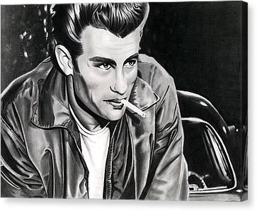James Dean Canvas Print by Cool Canvas