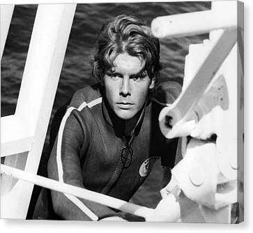 James Fox In Duffy  Canvas Print by Silver Screen