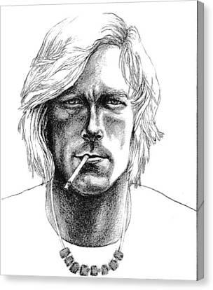 James Hunt Canvas Print by Diane Fine