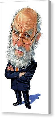 James Randi Canvas Print by Art