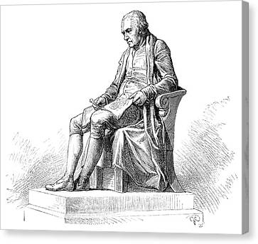 James Watt Canvas Print by Science Photo Library