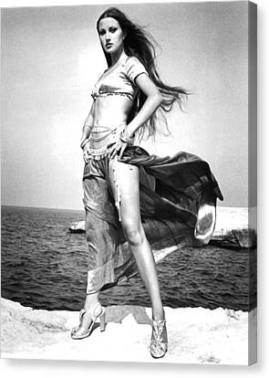 Jane Seymour In Sinbad And The Eye Of The Tiger  Canvas Print by Silver Screen