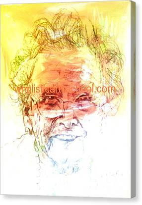 Janice Canvas Print by  Maestro