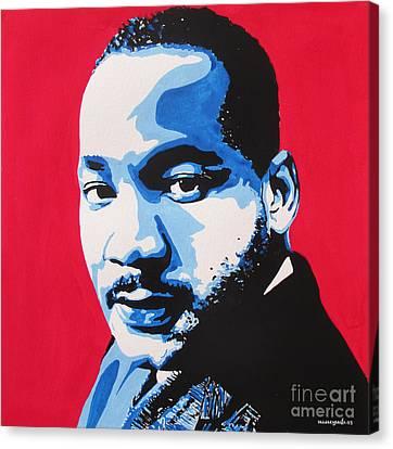 January 20. 2015 Canvas Print by Nancy Mergybrower