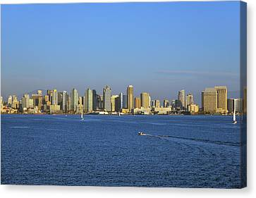 January In San Diego Canvas Print by Christine Till