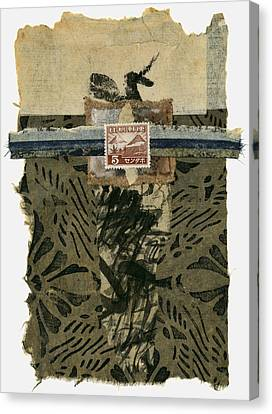 Japan 1943 Collage Canvas Print by Carol Leigh