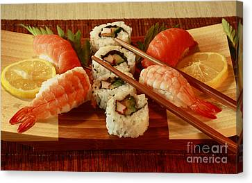 Japanese Cuisine Canvas Print by Inspired Nature Photography Fine Art Photography