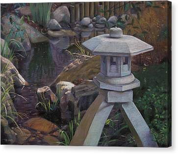 Japanese Garden Canvas Print by Christopher Reid