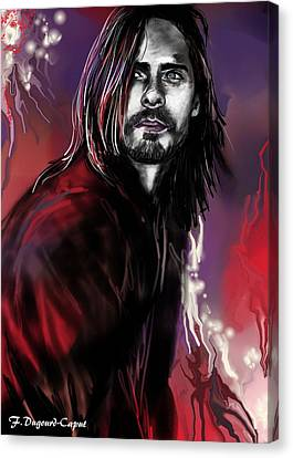 Jared Canvas Print by Francoise Dugourd-Caput