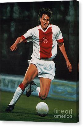 Jari Litmanen Canvas Print by Paul Meijering