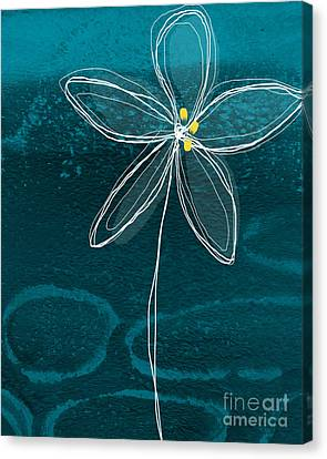 Jasmine Flower Canvas Print by Linda Woods