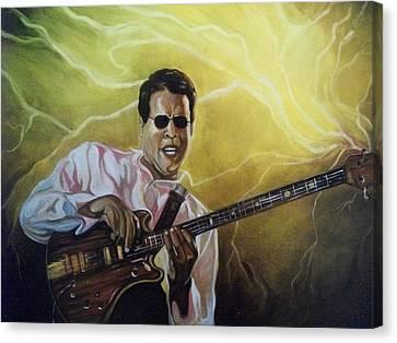 Jazz Canvas Print by Emery Franklin