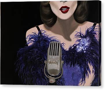 Jazz Canvas Print by Marcella Lassen