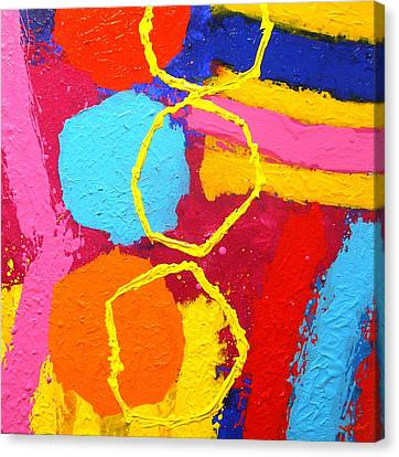 Jazz Process IIi Canvas Print by John  Nolan
