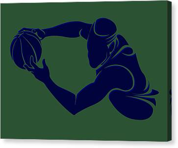 Jazz Shadow Player2 Canvas Print by Joe Hamilton